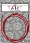 Preview: Seil/Kabel TWIST RED